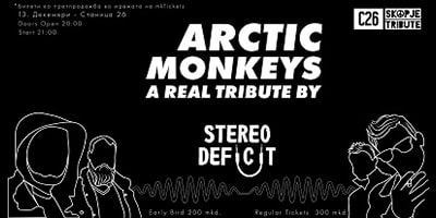 artic monkeys a real tribute by stereo deficit