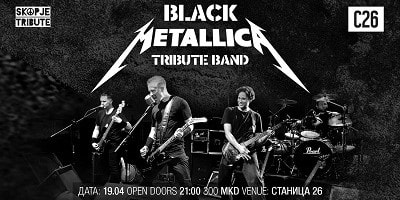 Metallica Tribute @ Stanica 26